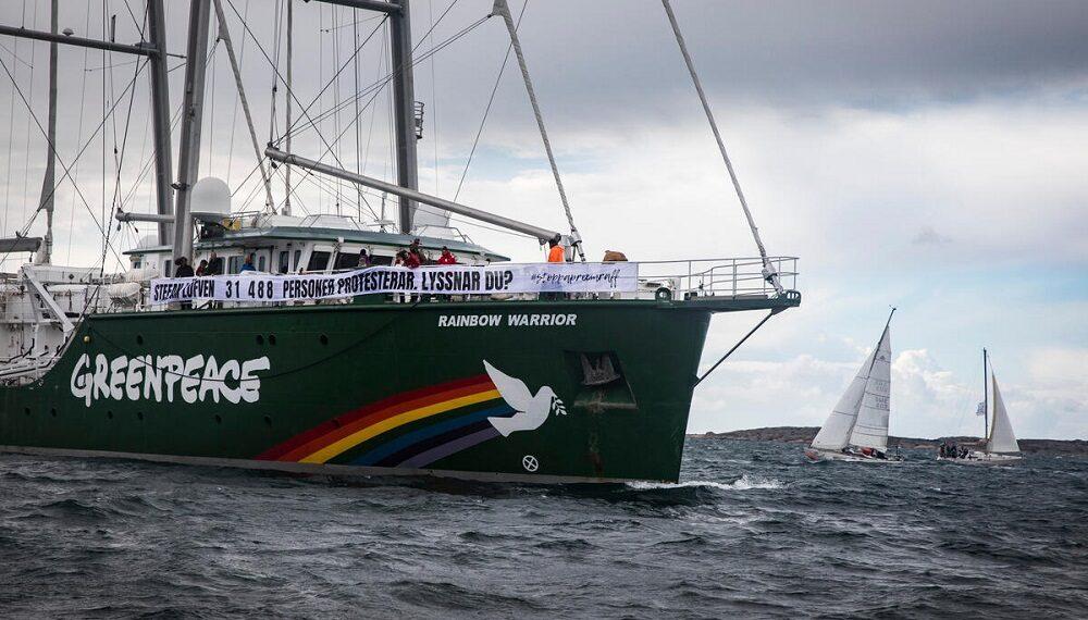 Greenpeace: il 2020 in un video lungo un minuto