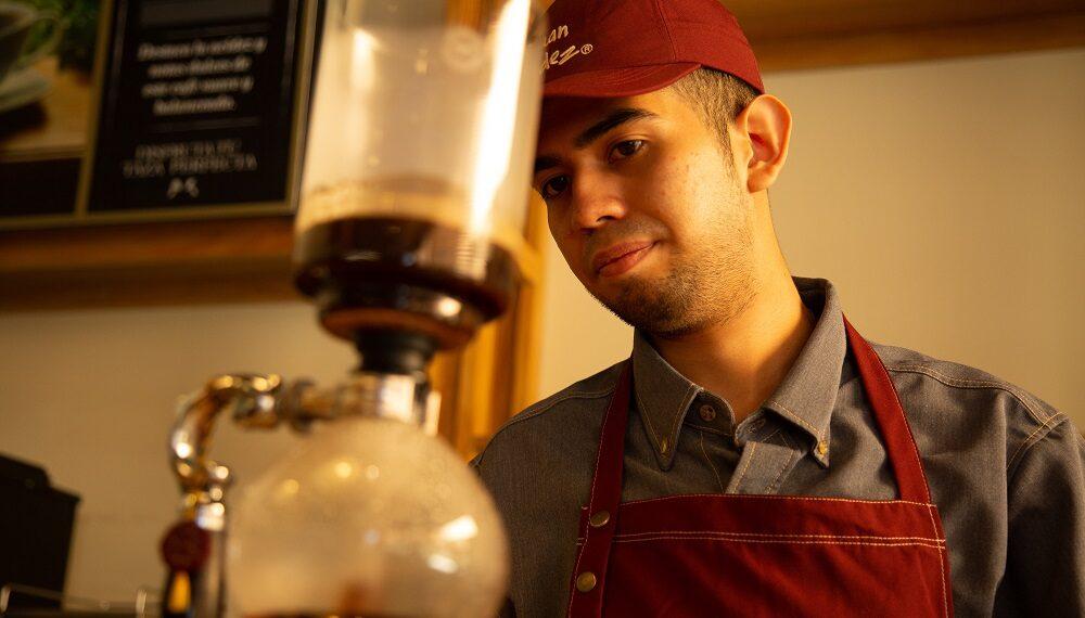 Il caffè ti cambia la vita, parola di Moises