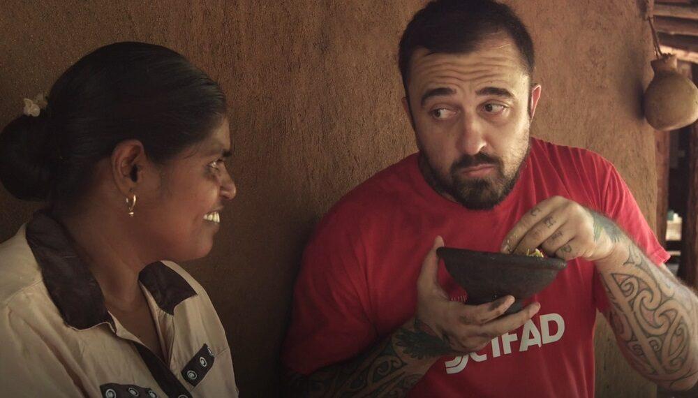 Sri Lanka: foglie di moringa e cocco con Chef Rubio