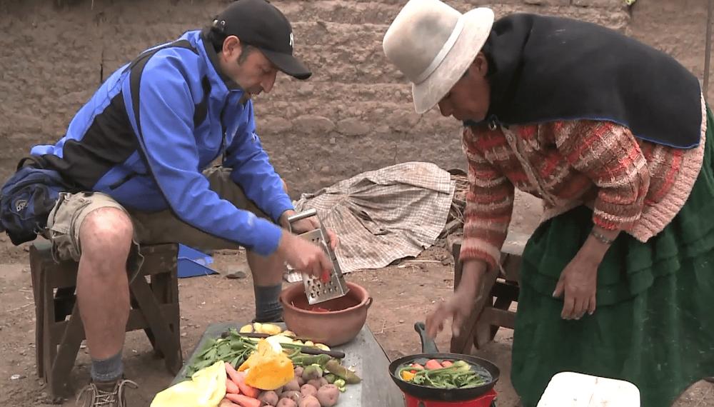 Bolivia: zuppa chairo con Marko Bonifaz