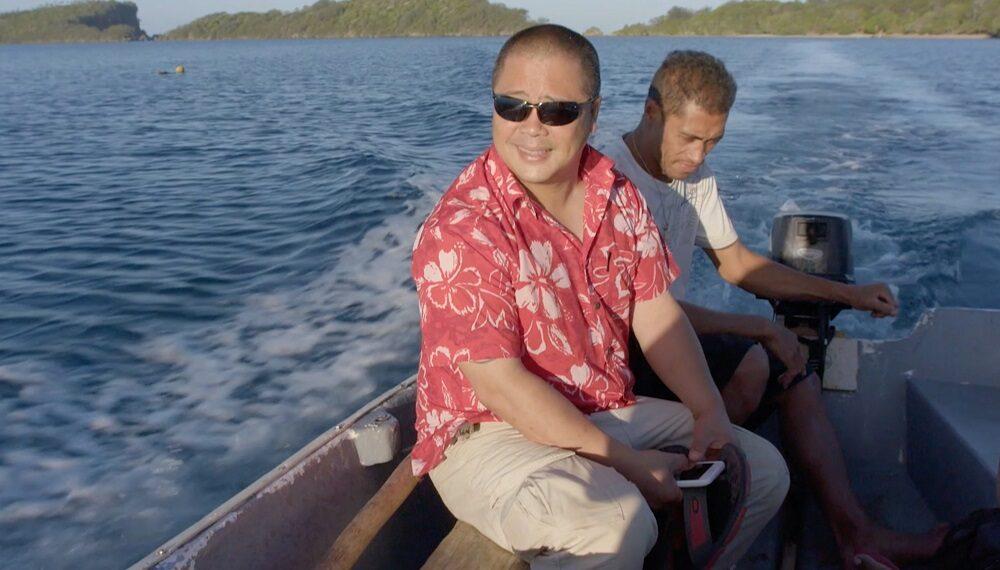 Tonga, Polinesia: tonno e foglie di taro (chef Lance Seeto)