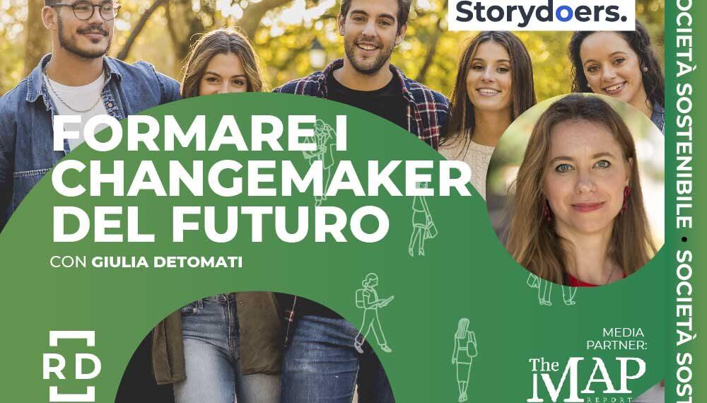 """Giulia Detomati: """"Formare i changemaker del futuro"""""""