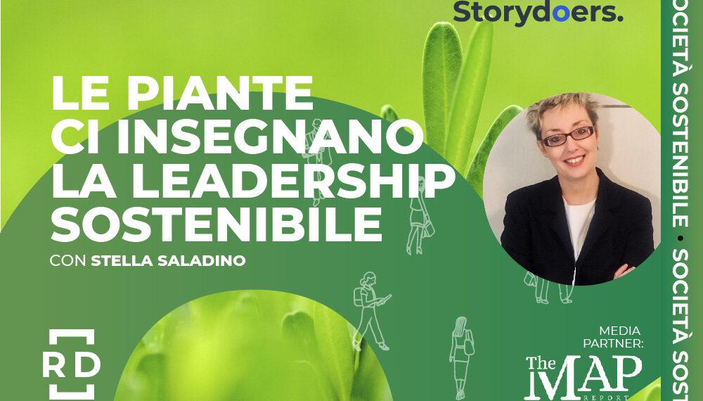 """Stella Saladino: """"Le piante ci insegnano la leadership sostenibile"""""""